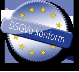Ihre Daten sind sicher, wir arbeiten DSGVo konform.